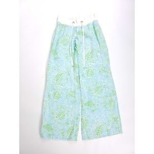 Lilly Pulitzer The Beach Linen Get Crackin Pants